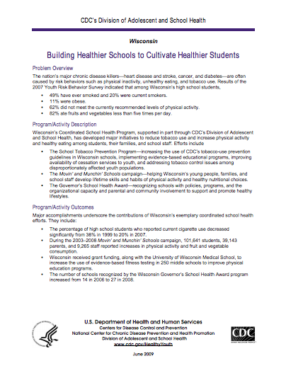 Building Healthier Schools to Cultivate Healthier Students