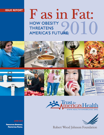 F as in Fat: How Obesity Threatens America's Future