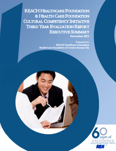 Cultural Competency Initiative: Third Year Report Executive Summary
