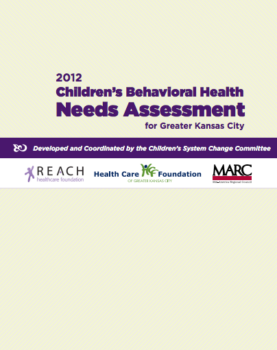 2012 Children's Behavioral Health Needs Assessment