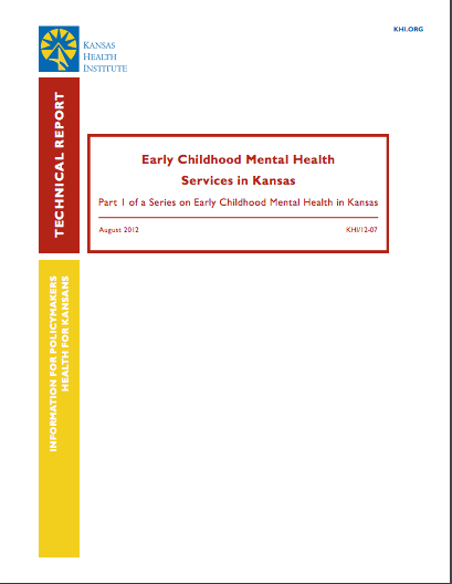 Early Childhood Mental Health Services in Kansas
