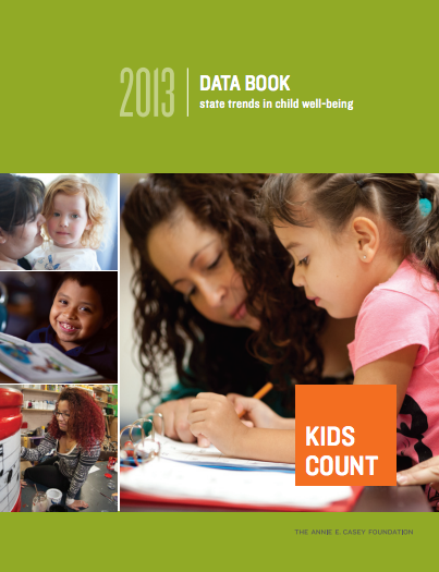 2013 Data Book: State Trends in Child Well-Being