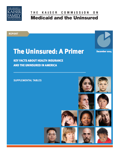 The Uninsured: A Primer (Supplemental Tables)