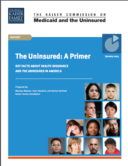 The Uninsured: A Primer