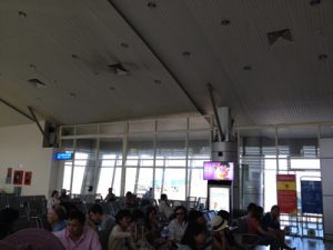 Not so airtight: a Vietnam airport smoking section