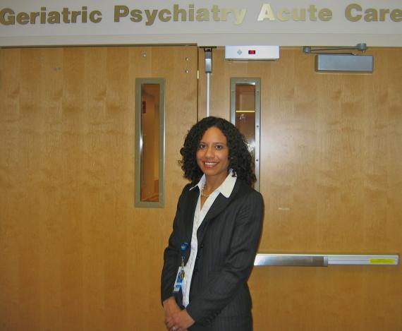 Dr. Melanie Gentry is a staff psychiatrist at Truman Medical Centers' Lakewood campus. Truman recently opened a new
