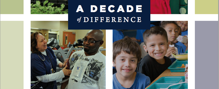 HCF's Decade of Difference report cover