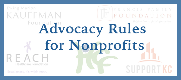 Advocacy Rules for Nonprofits