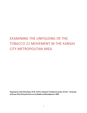 Tobacco 21 lessons learned