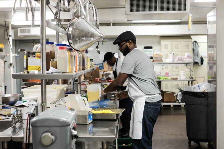 Episcopal Community Services kitchen, healthy communities, Health Care Foundation, HCF