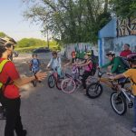 Rosedale organizes fun activities for students on National Bike to School Day