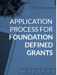 Health Forward foundation defined grant