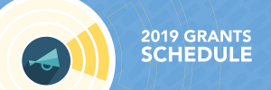 Changes to Health Forward 2019 grants schedule