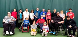 All-Abilities Tennis sponsored by The Whole Person